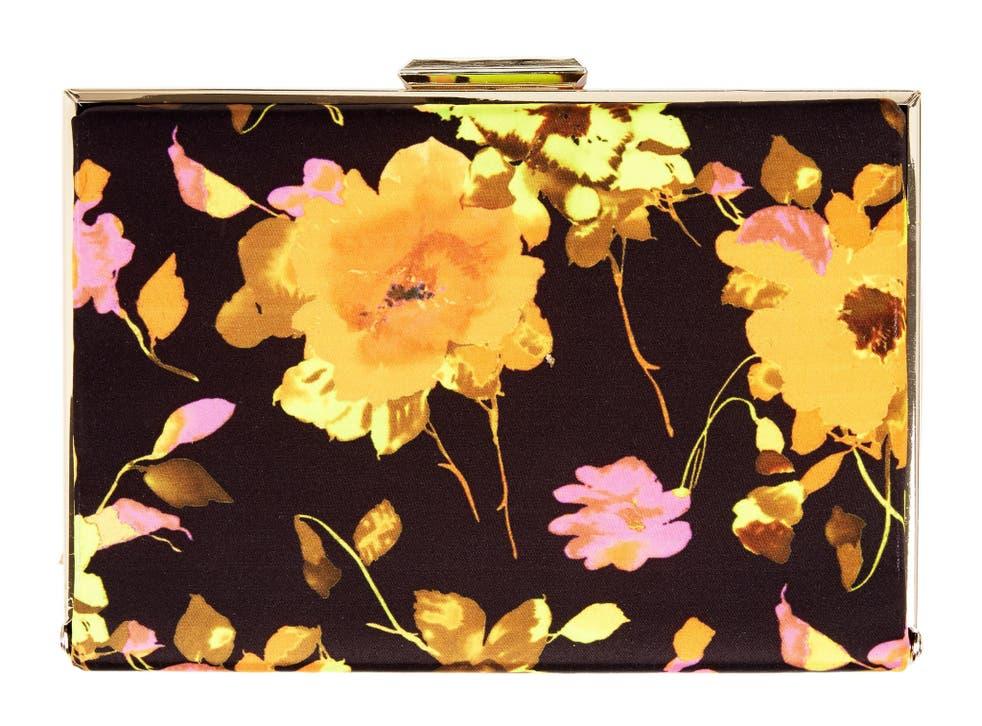 Box clutch bag, £18, very.co.uk