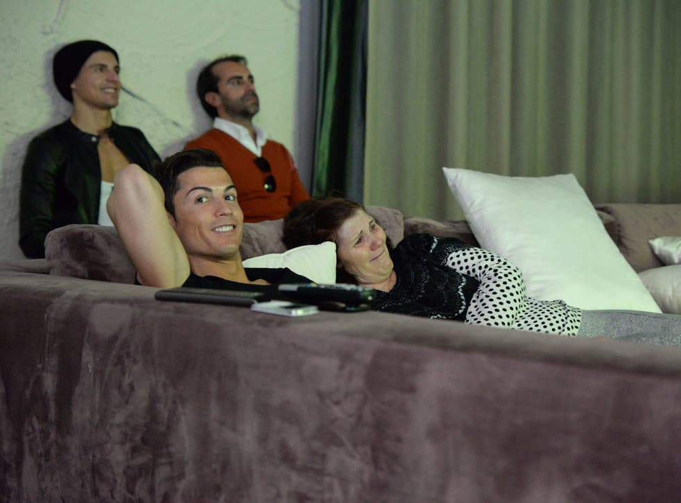 Living like an emperor: Cristiano Ronaldo is the star of a documentary about his life by the makers of 'Amy'