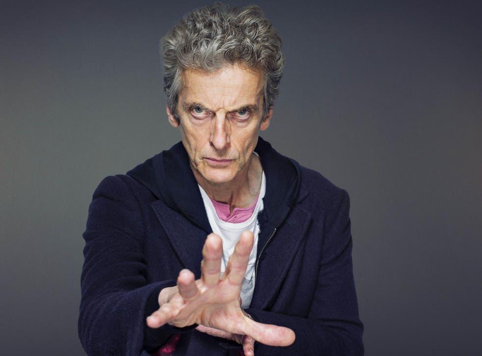 Peter Capaldi, aka Doctor Who
