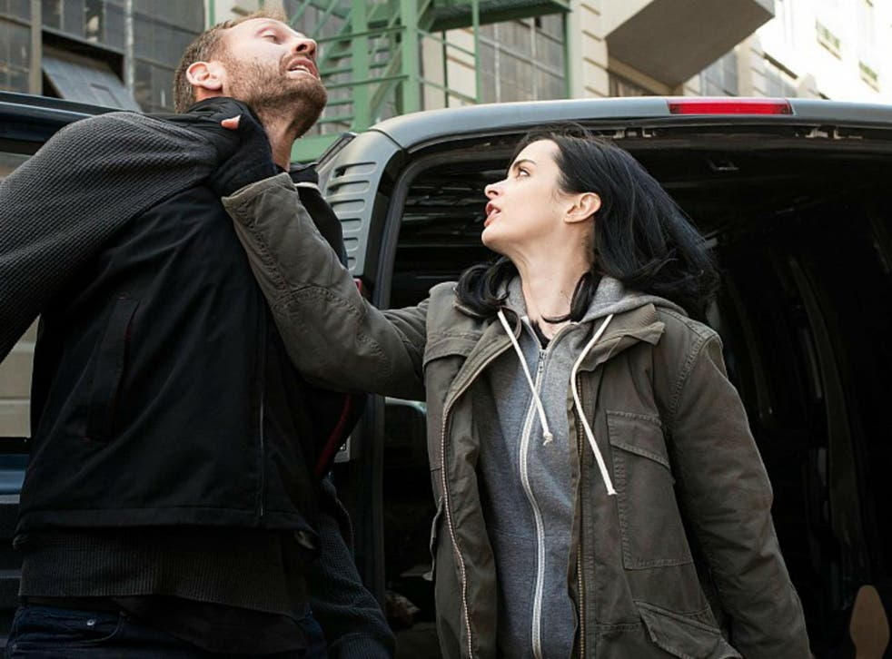 Krysten Ritter shows a thug what she's made of in Jessica Jones