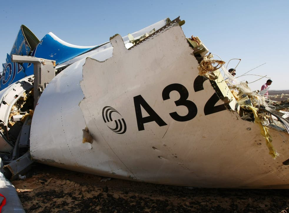 Flight A321 crashed in the Sinai desert, killing 224 people