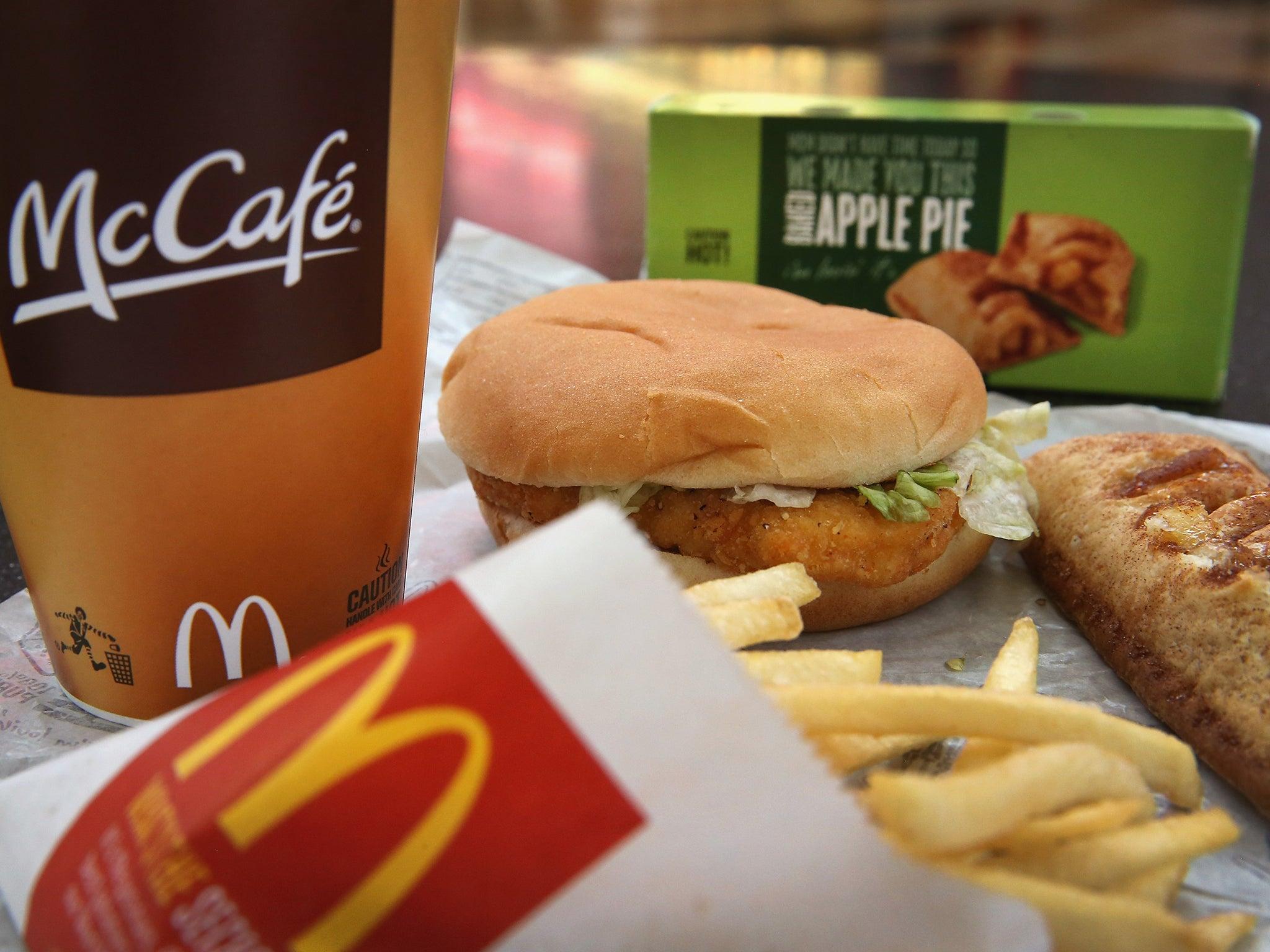 Fashion food: Макдональдс в стиле лухури картинки
