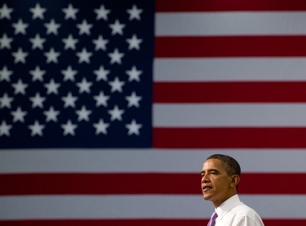 US President Barack Obama speaks on the economy and job creation at Smith Electric Vehicles in Kansas City