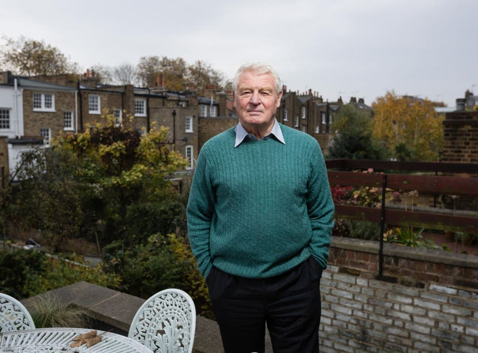 Lord Ashdown photographed at his london office.