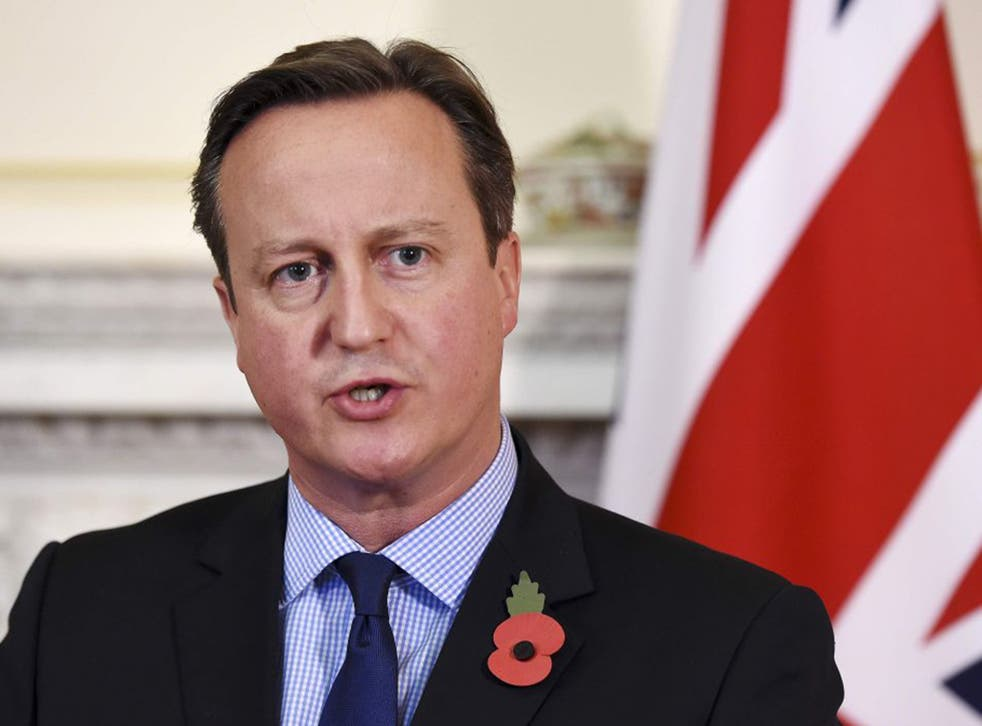 """Cameron will say """"if and when"""" he achieves an agreement, he will campaign to keep Britain inside a """"reformed"""" EU"""