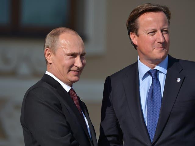 David Cameron called Vladimir Putin last week regarding the plane crash in Egypt