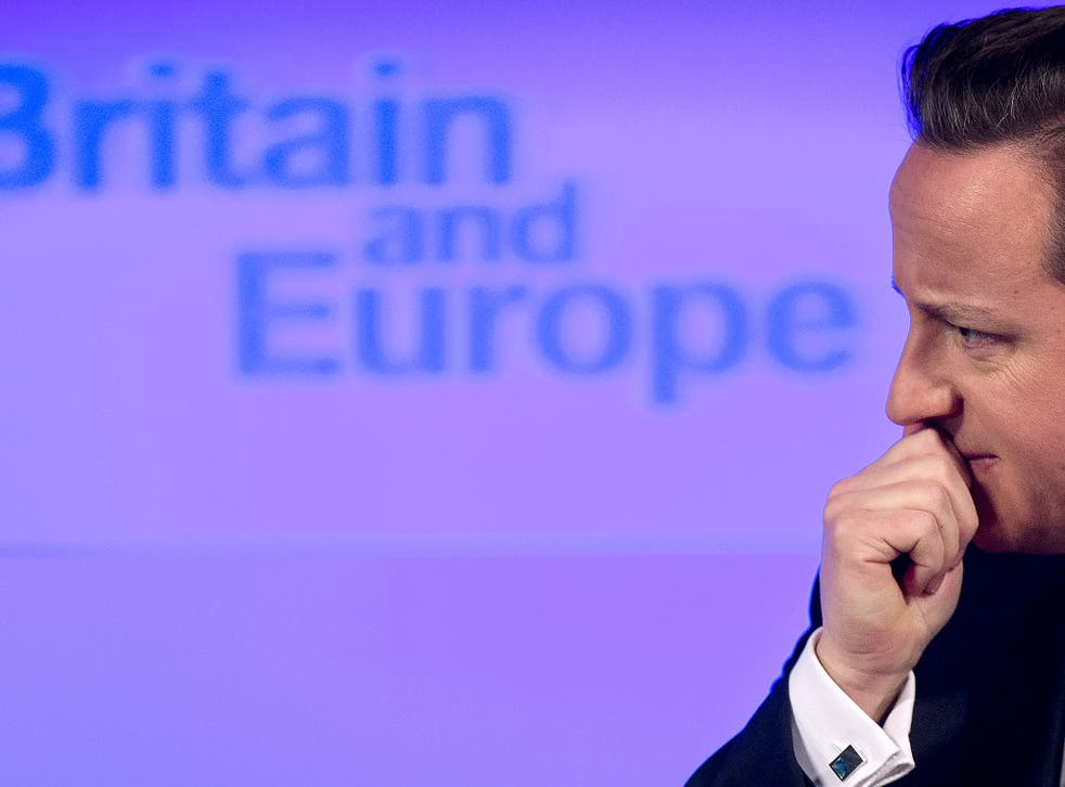 Cameron looks set to try and renegotiate Britain's position within the EU