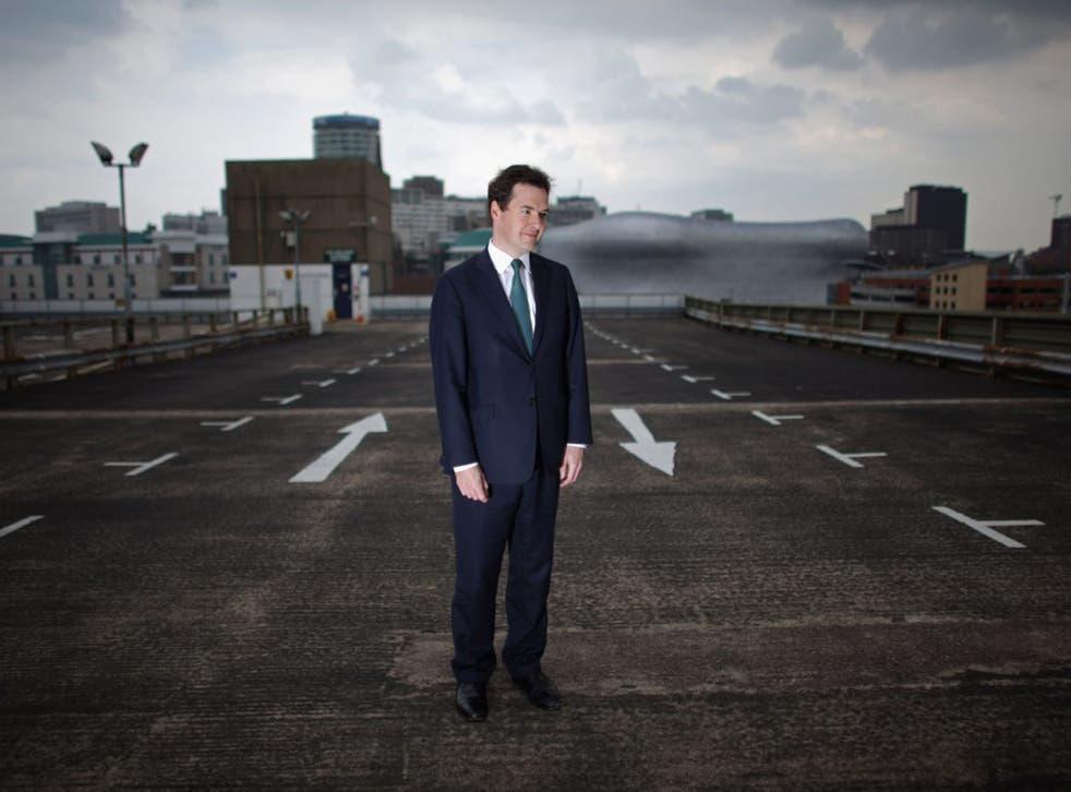 George Osborne visits Birmingham's enterprise zone in 2011