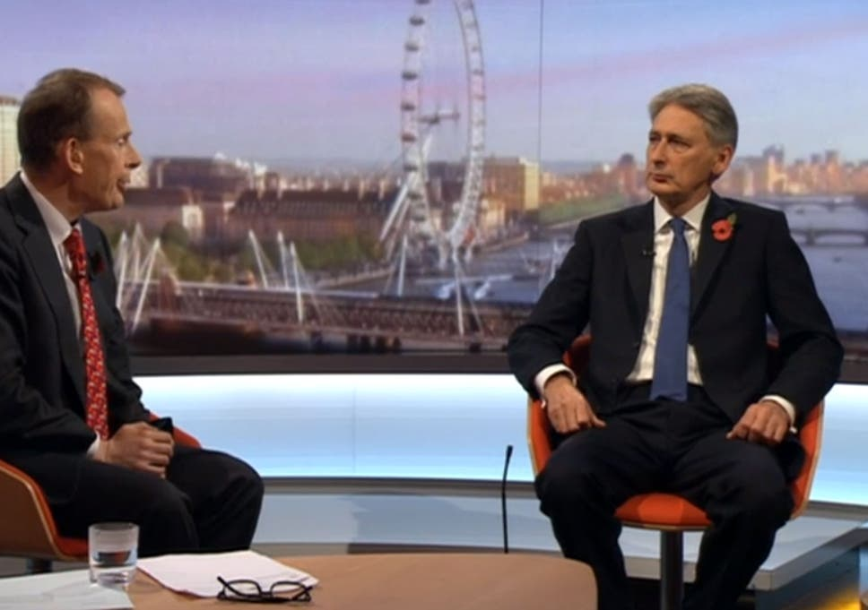 Image result for philip hammond marine a andrew marr