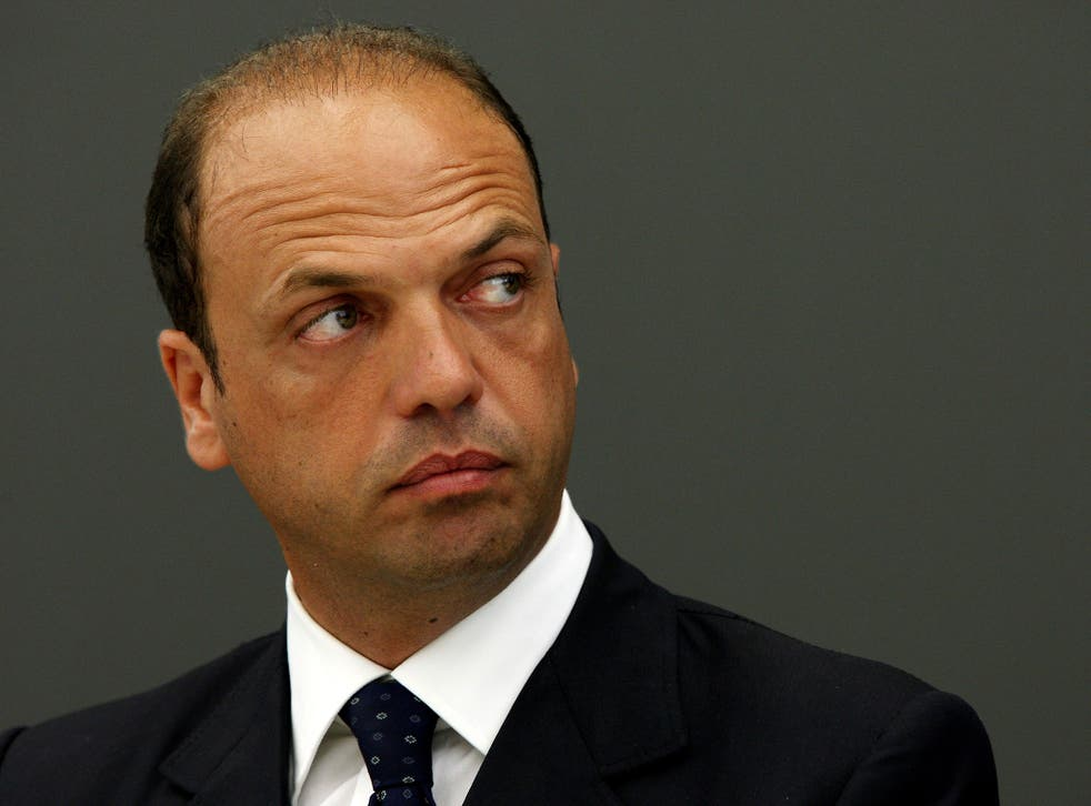 Angelino Alfano, Italy's Interior Minister, has previously insisted there was no evidence that Islamic terrorists were sneaking into Europe aboard migrant boats