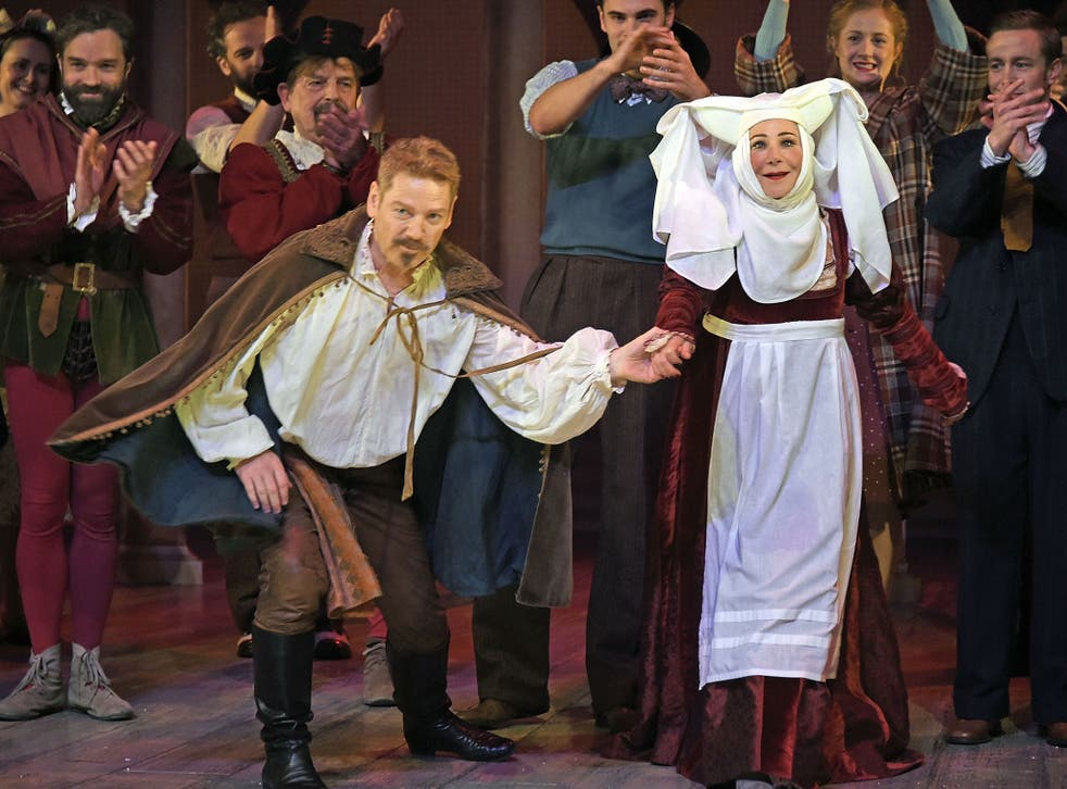 Kenneth Branagh and Zoë Wanamaker at the Garrick Theatre