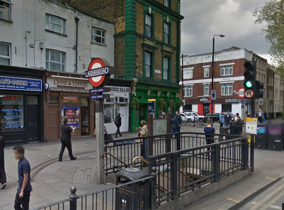 Gary Carter was involved in an altercation outside Bethnal Green station