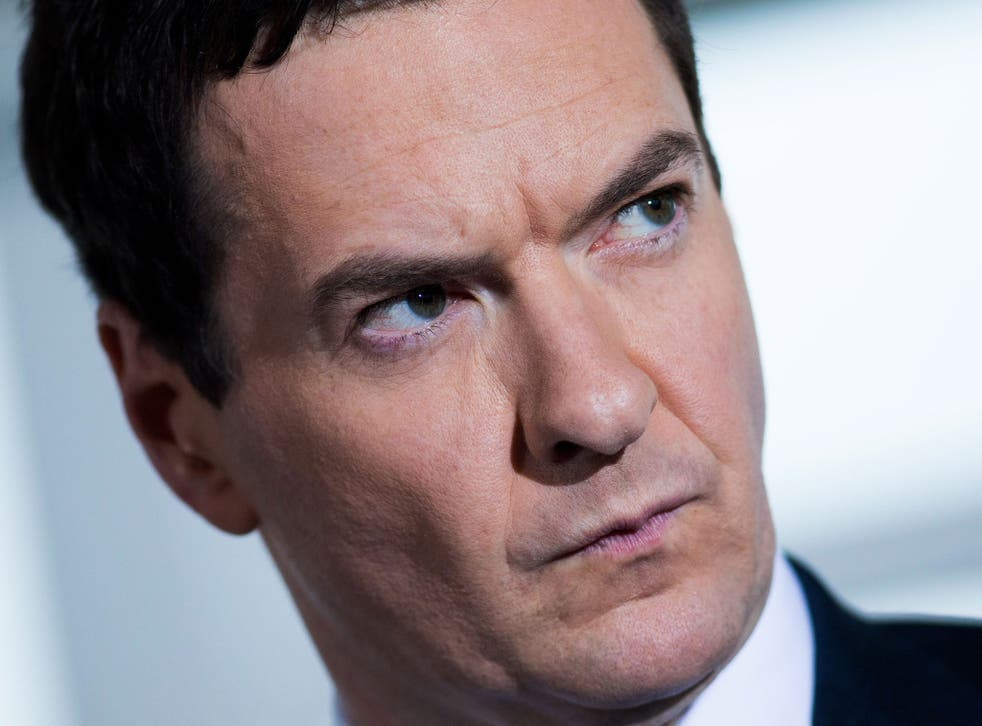 George Osborne says Britain must not 'lose its nerve' on spending cuts