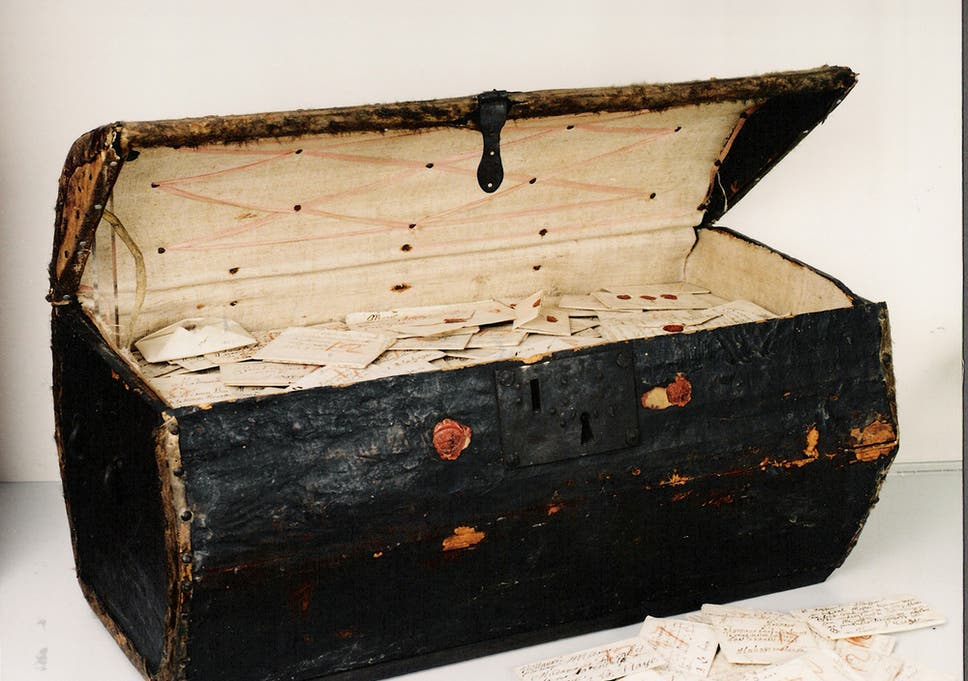 300-year-old letters found in leather trunk shed light on life in