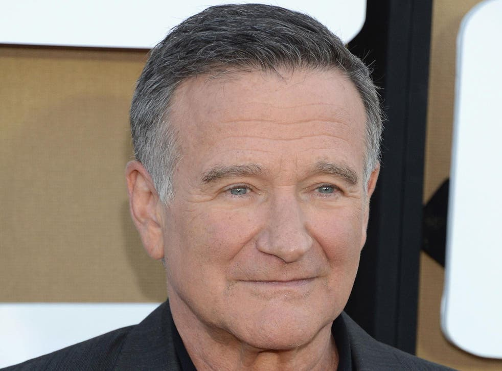 Robin Williams, who died in August 2014