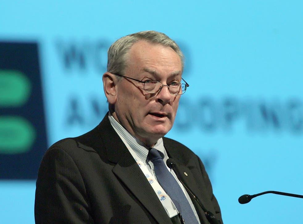 Former World Anti-Doping Agency president Dick Pound