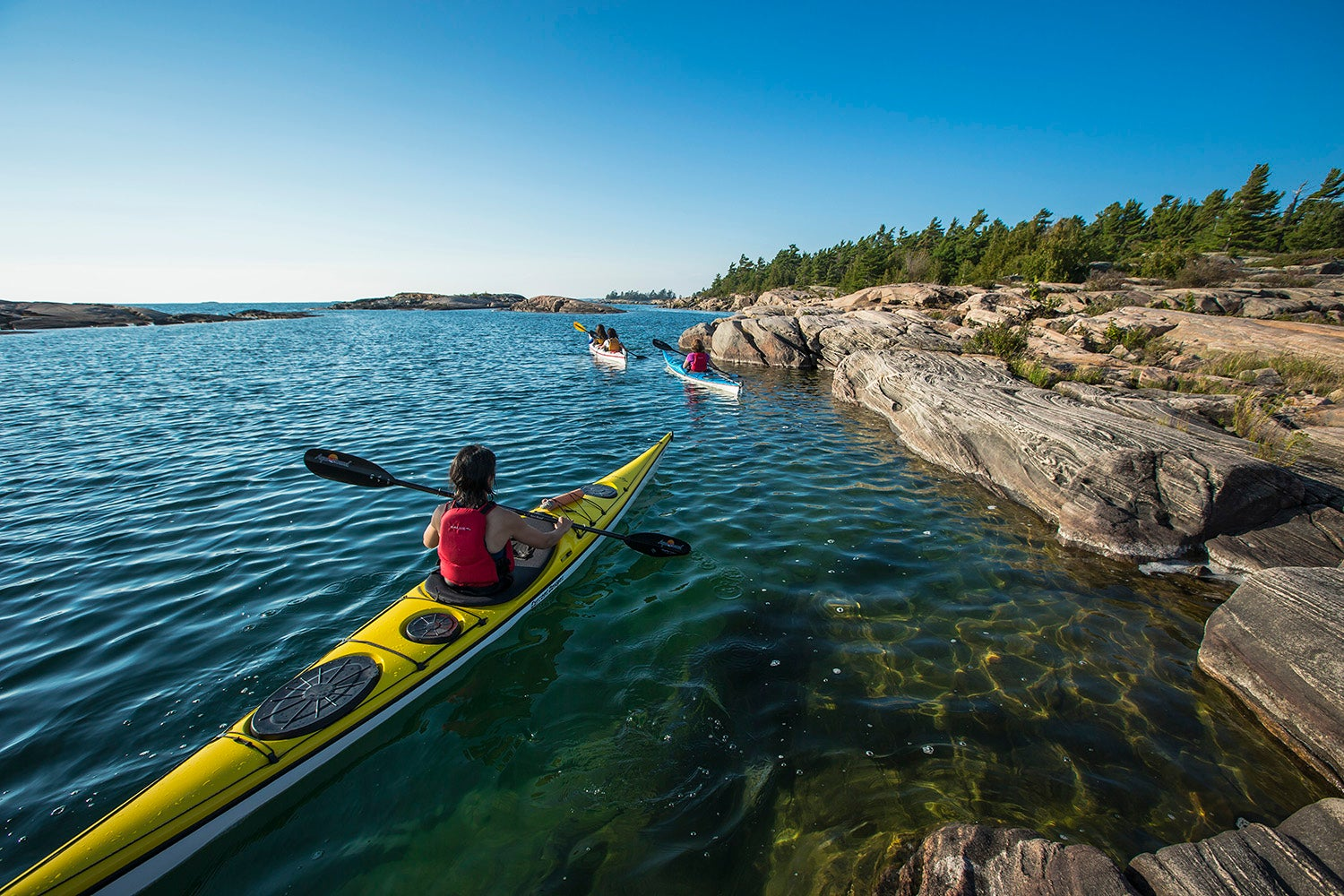 Settin' off from the dock of the Bay: Kayaking in Georgian Bay
