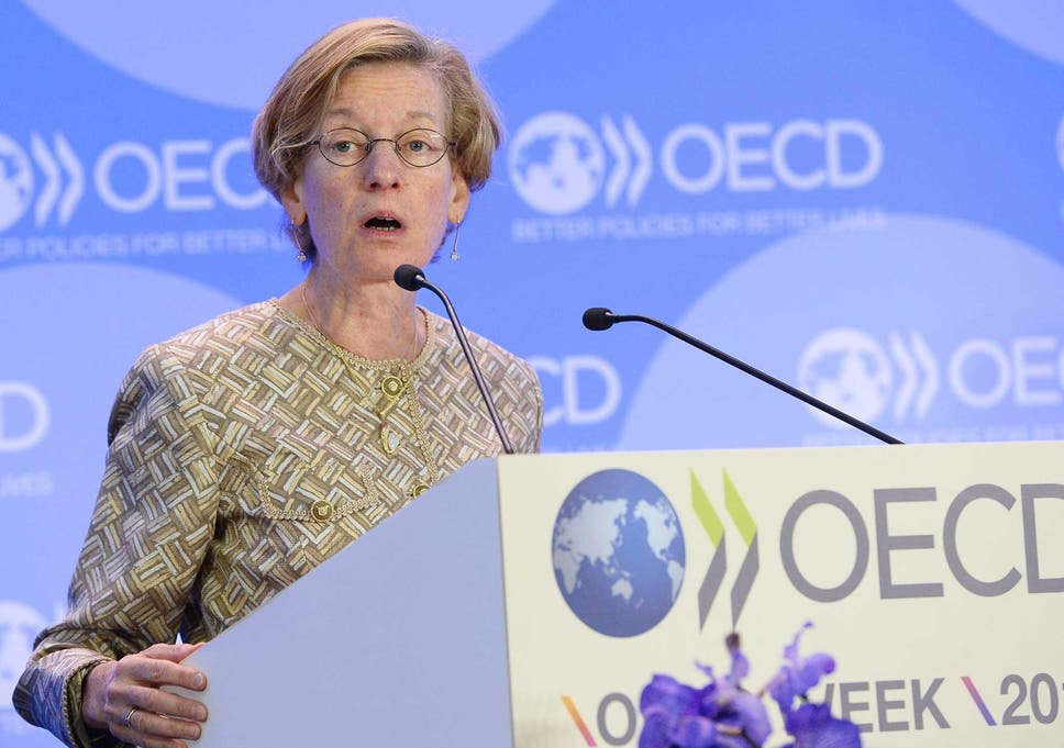 df4baa698 OECD chief economist Catherine Mann also expects the UK unemployment rate  to climb to 5.3 per