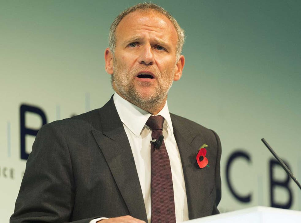 Dave Lewis, Tesco chief executive, spoke about food waste on the Global Summit of the Consumer Goods Forum