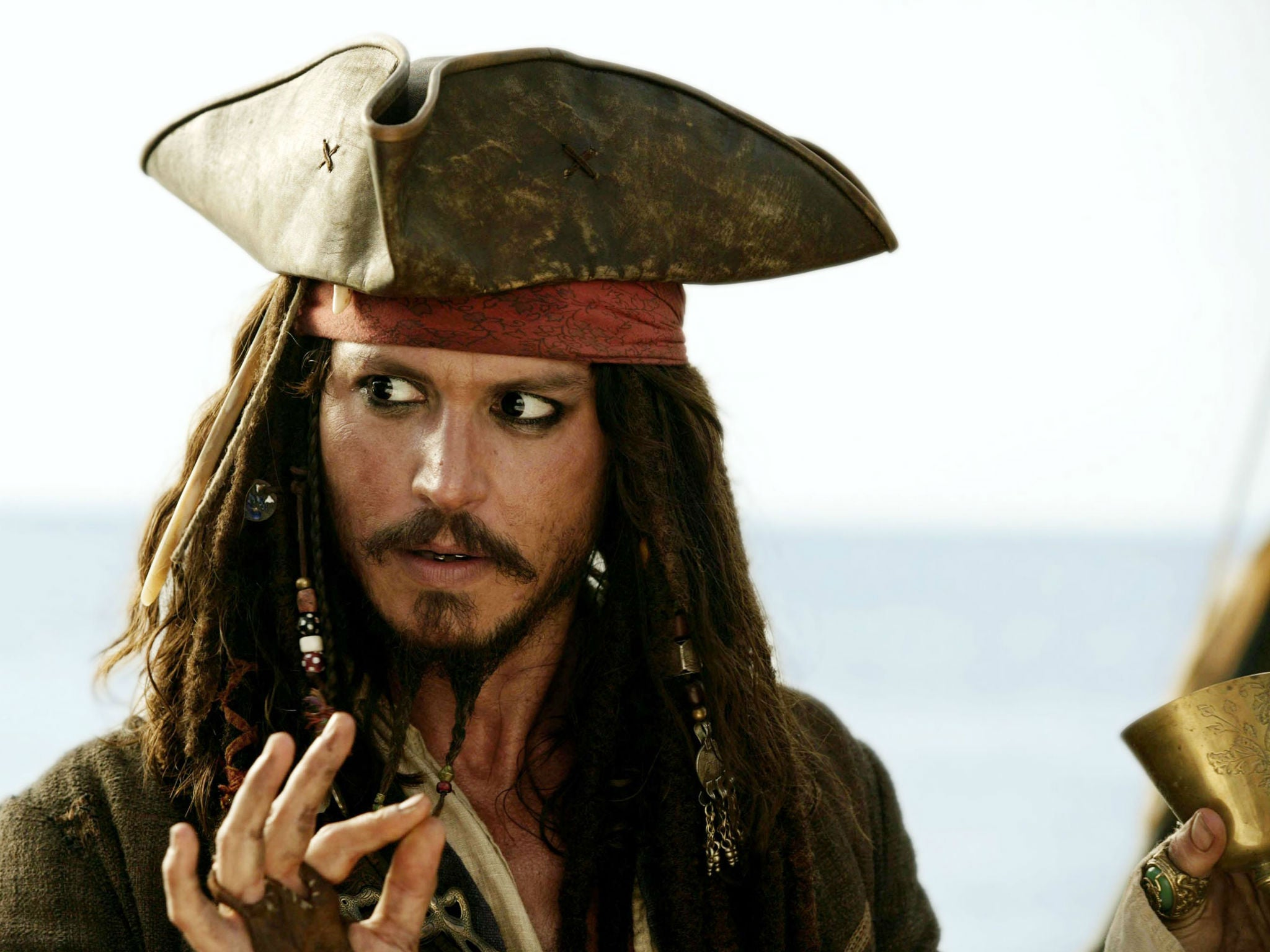 Image result for the pirate of the caribbean johnny depp