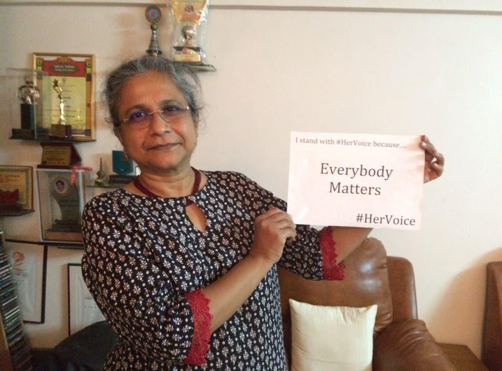 Priti Paktar, leading activist and the founder of anti-sex trafficking initiative Prerana