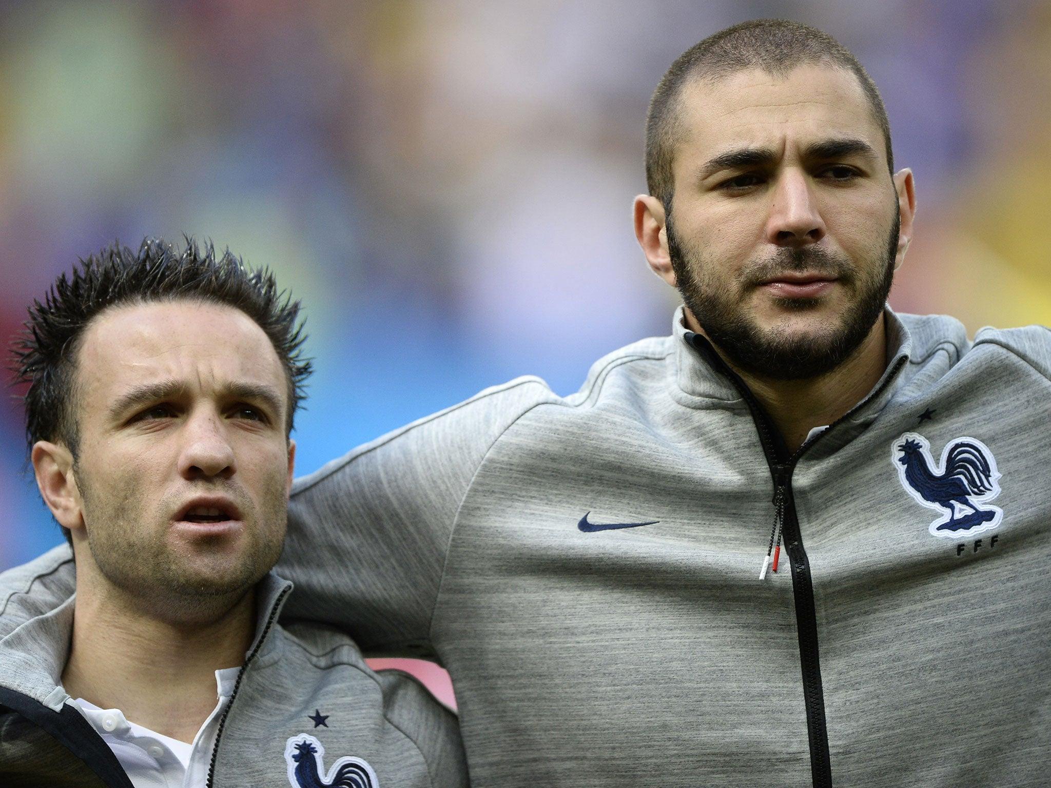 Karim Benzema said to friend I don t think Mathieu Valbuena is