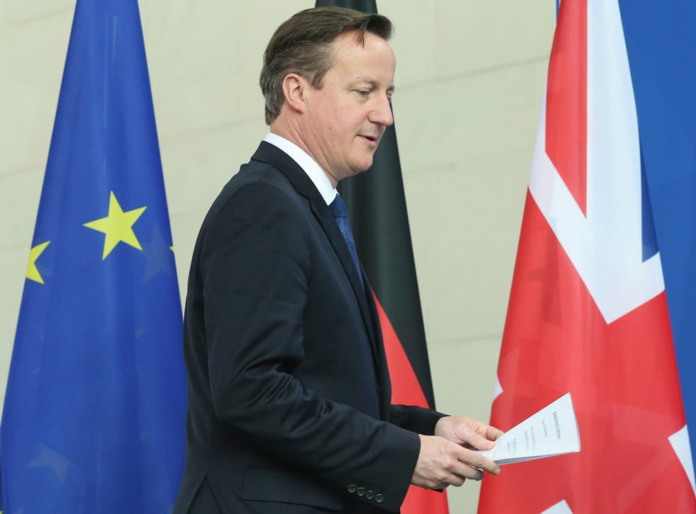 The PM's speech was aimed more at winning support in the EU rather than appeasing Tory Eurosceptics
