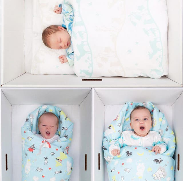 Several states in the US have already launched programmes to provide new mothers with baby boxes