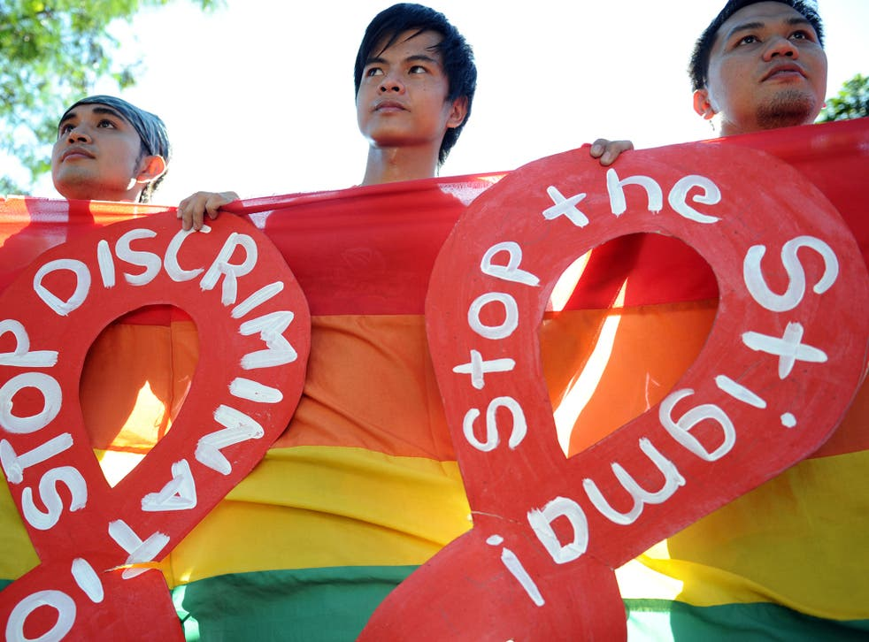 Campaigners say reducing the stigma around HIV is vital to prevent the disease by ensuring people get tested