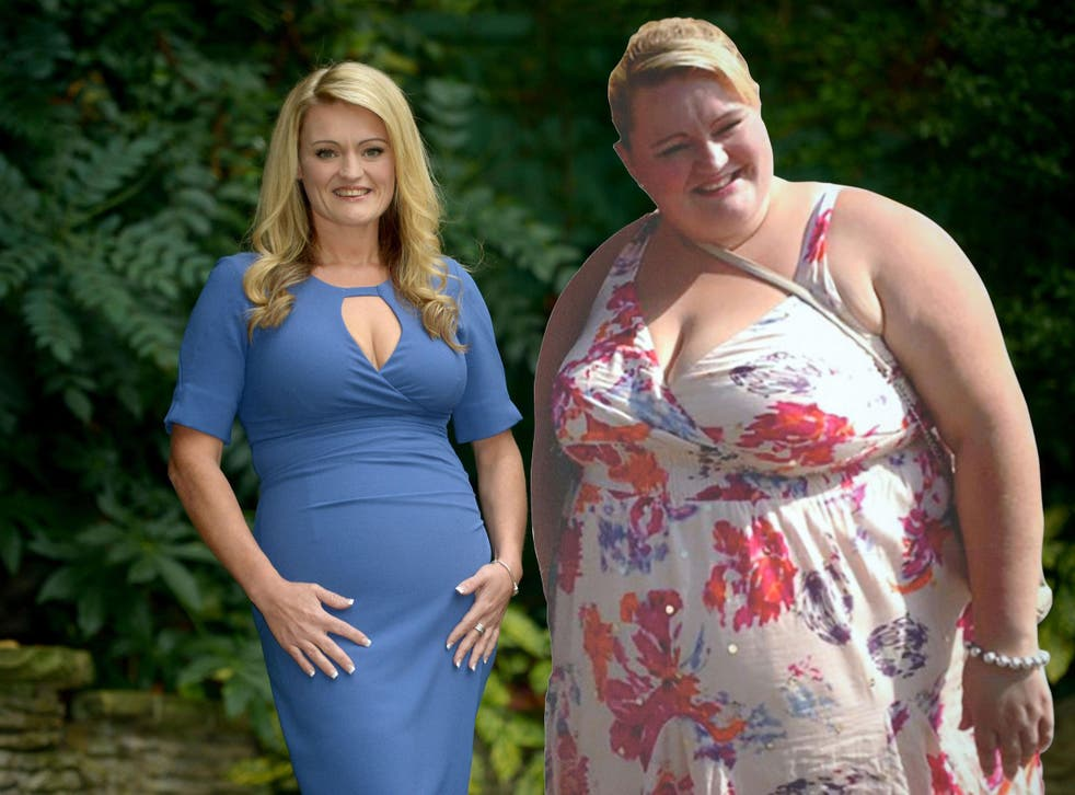 Cheryl Blythe lost 14 stone in just 18 months after being warned she 'could die'
