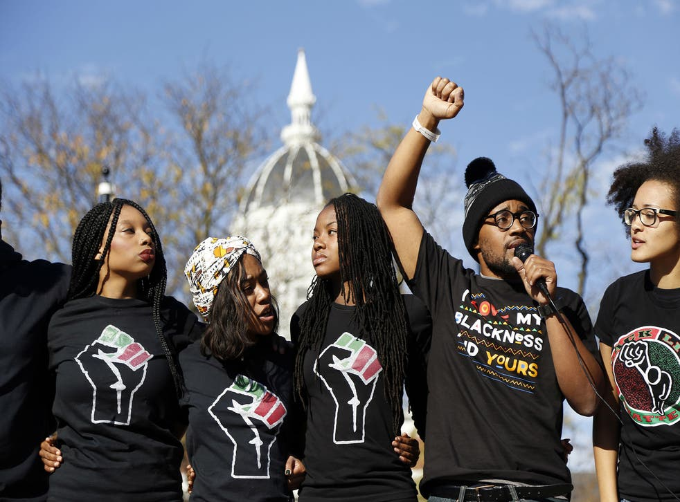 The protests have been inspired by the resignation of senior officials at the University of Missouri
