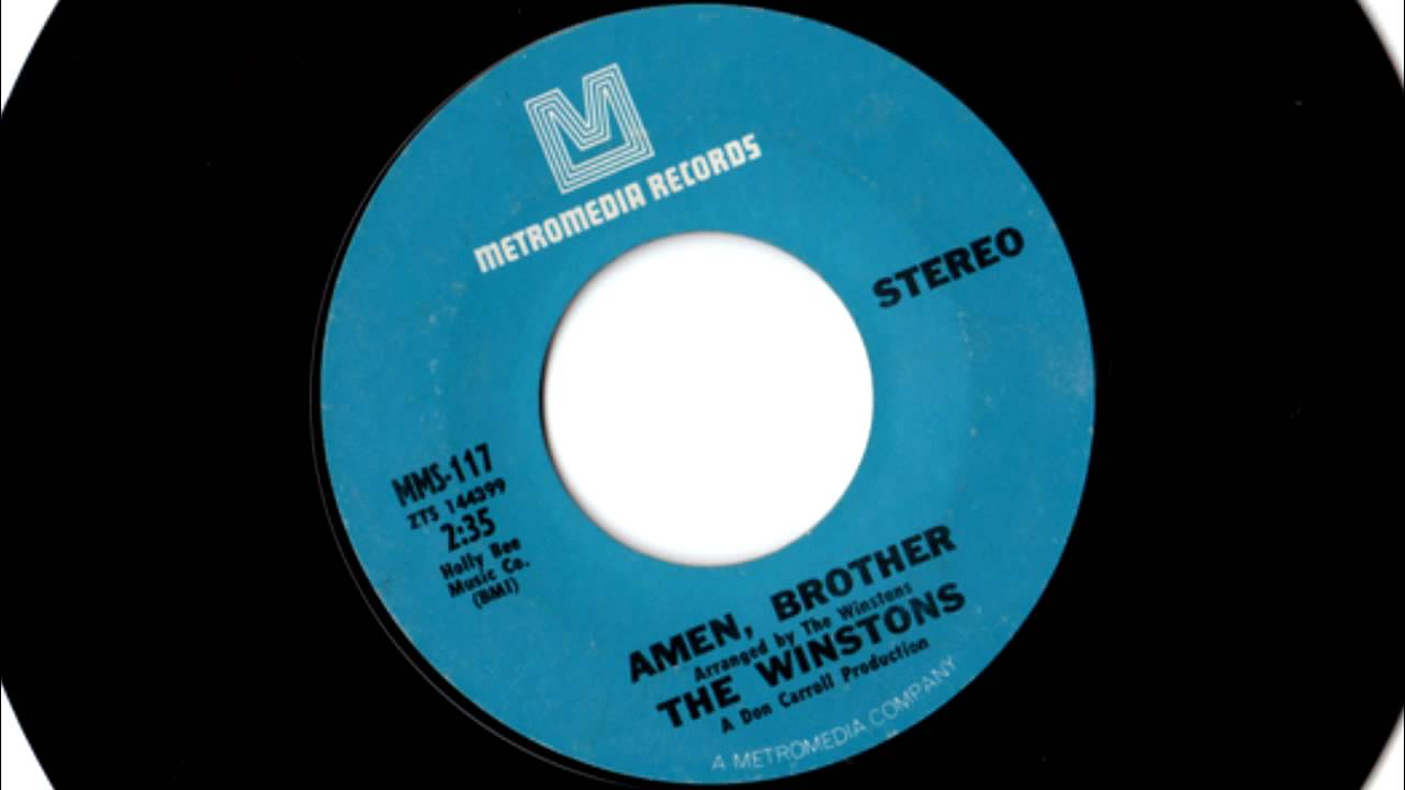 Frontman of The Winstons finally paid for Amen Break drum sample ...