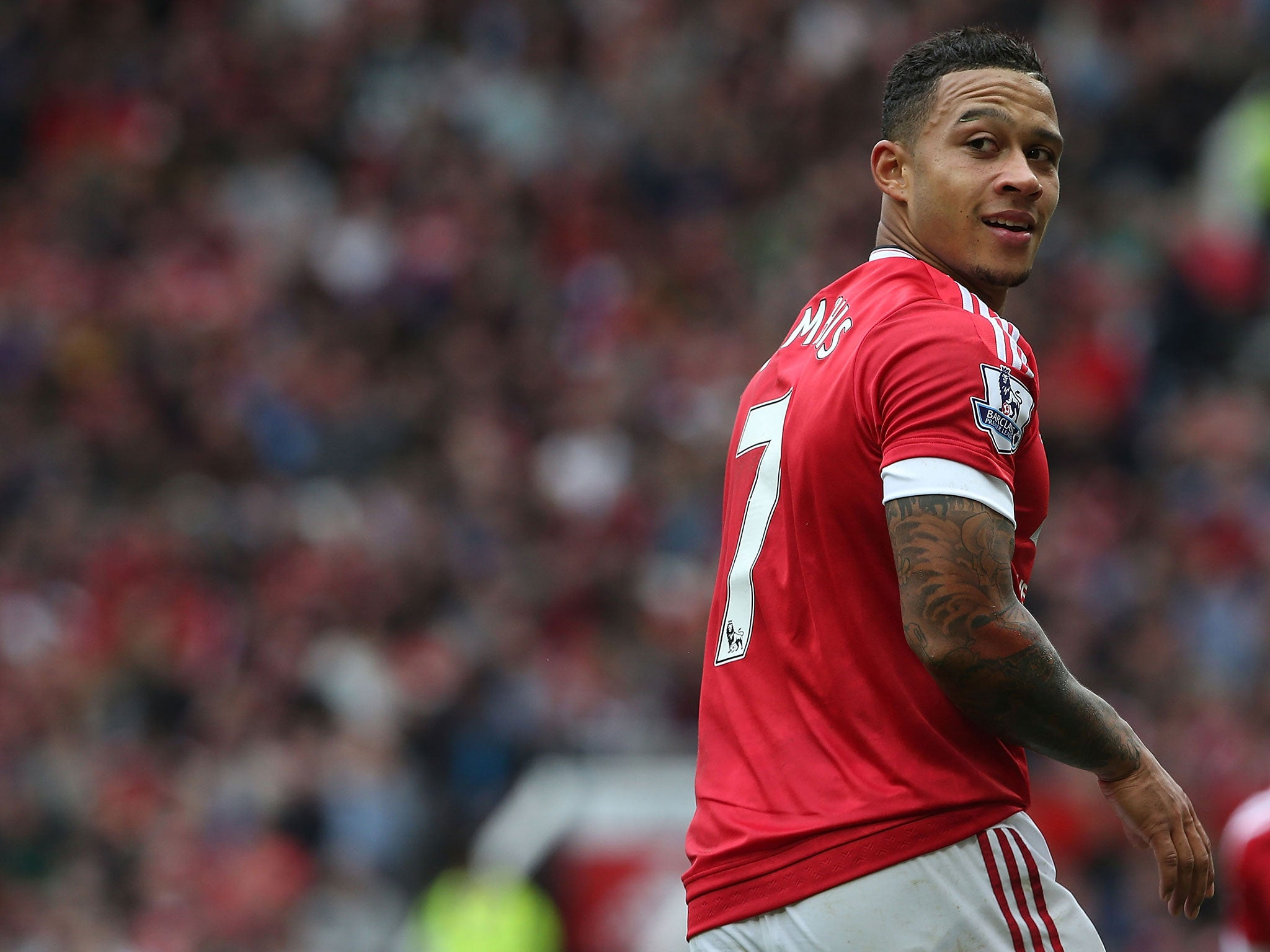 Memphis Depay reveals he gained five kilos and fell back at