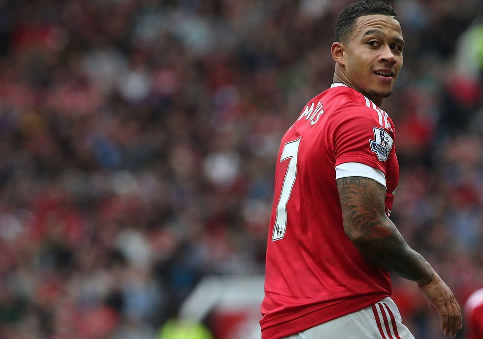 e00d4c6a0 Memphis Depay. Memphis Depay ( GETTY IMAGES ). Manchester United great David  Beckham ...