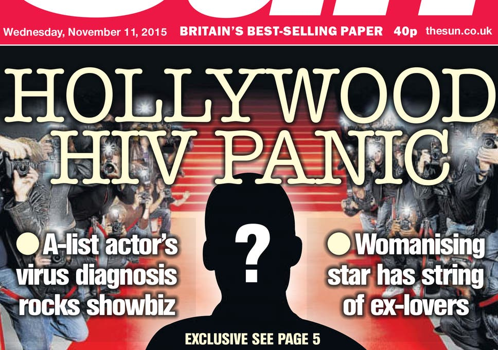 Hollywood actor 'with HIV': How the media should be responsibly