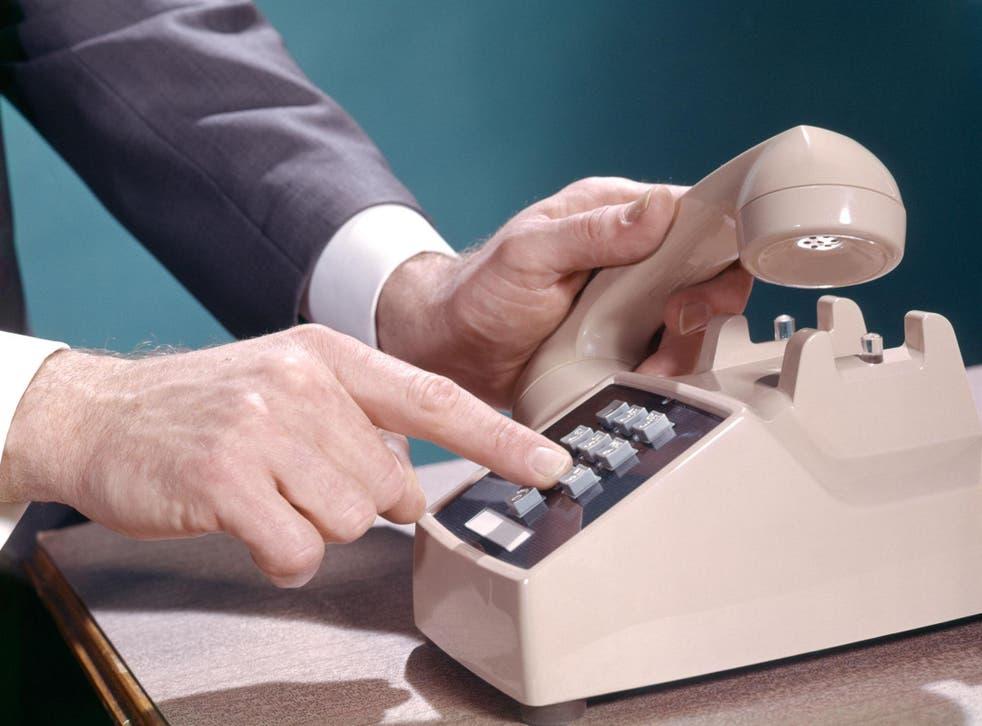 The now familiar 1-2-3 telephone keypad was the brainchild of industrial psychologist John E Karlin