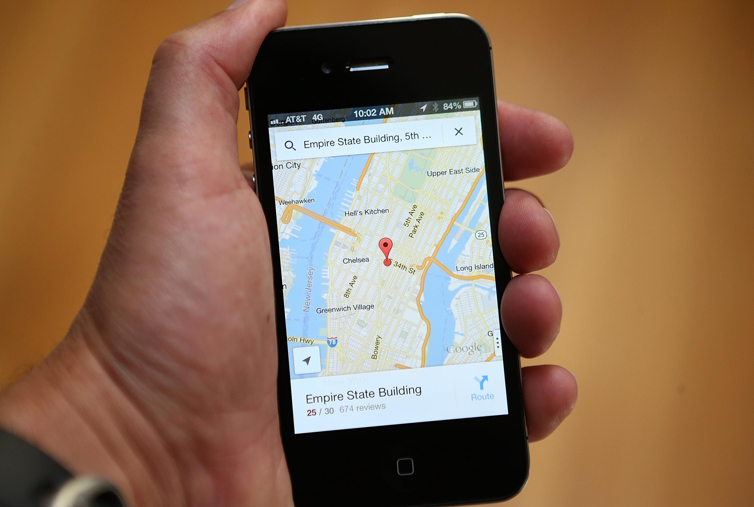 Find Location Of Phone Number On Map >> Google Maps Offline Service Launches So You Can Find Your Way Even