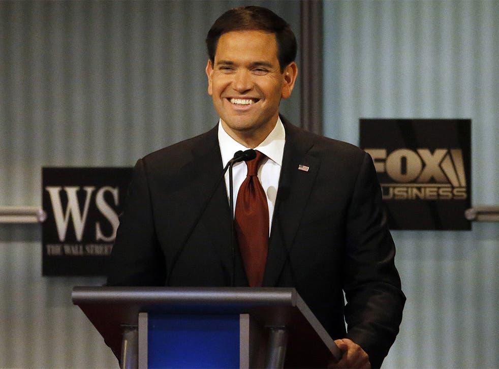 Senator Marco Rubio gave a slick performance in the fourth Republican debate