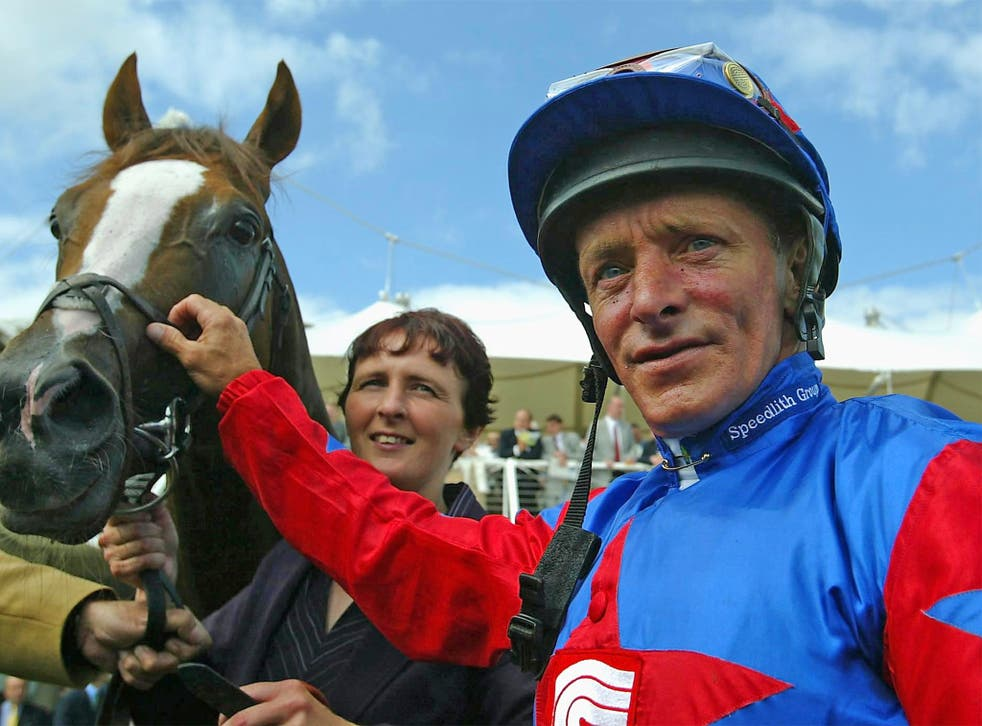 Eddery in 2003 at Goodwood; he rode 4,633 home winners, more than 6,000 worldwide