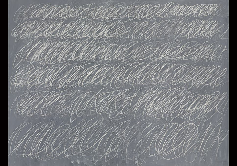 Cy Twombly blackboard covered in scribbles fetches $70 million at ...