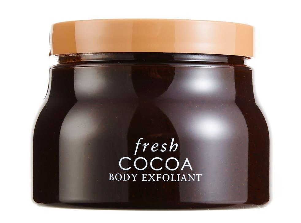 Cocoa body exfoliant  £34, fresh.co.uk