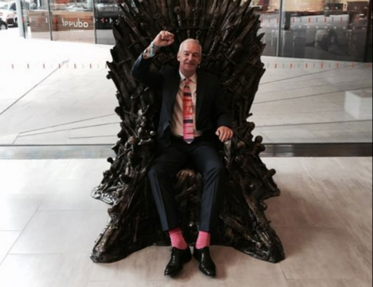 Game of Thrones: Channel 4's Jon Snow sits on the Iron ...