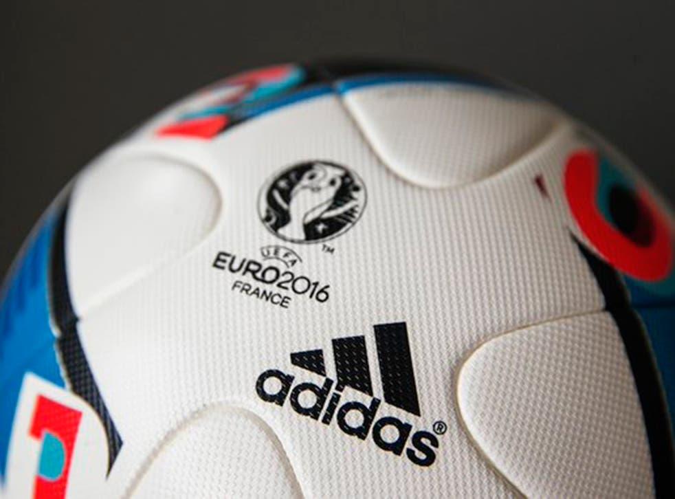 Adidas' 'Beau Jeu', the official match ball of Euro 2016