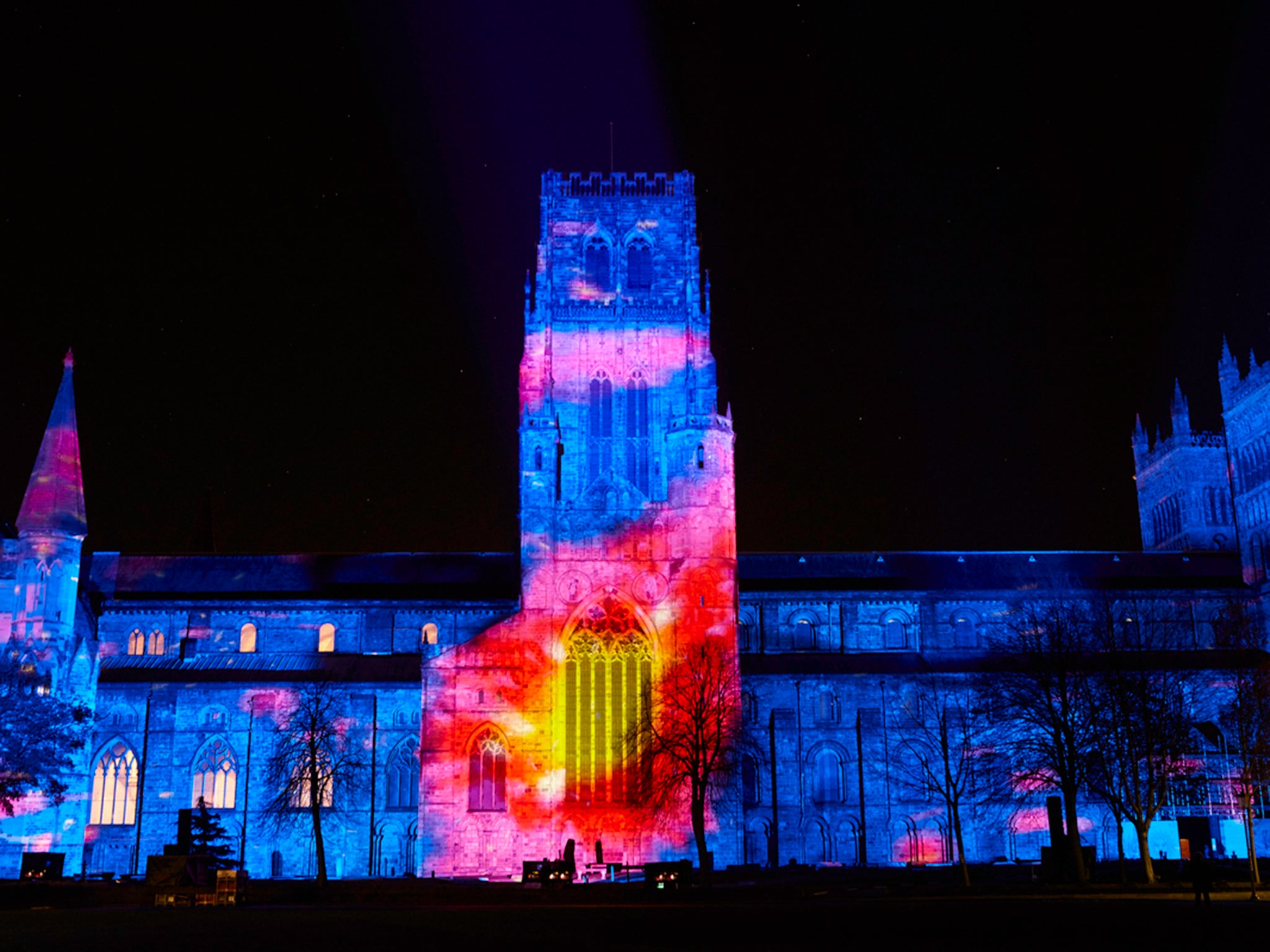 In Pictures: Lumiere Festival In Durham