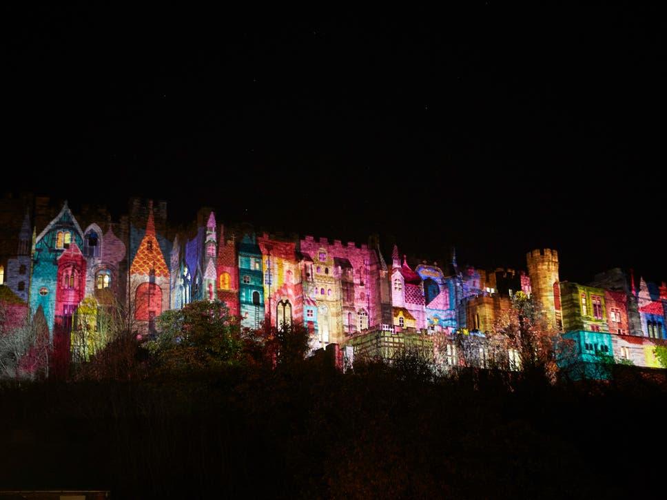 Superior U0027Foolu0027s Paradiseu0027 From Newcastle Based Studio NOVAK Lights Up Durham  Castle. U0027 Nice Look