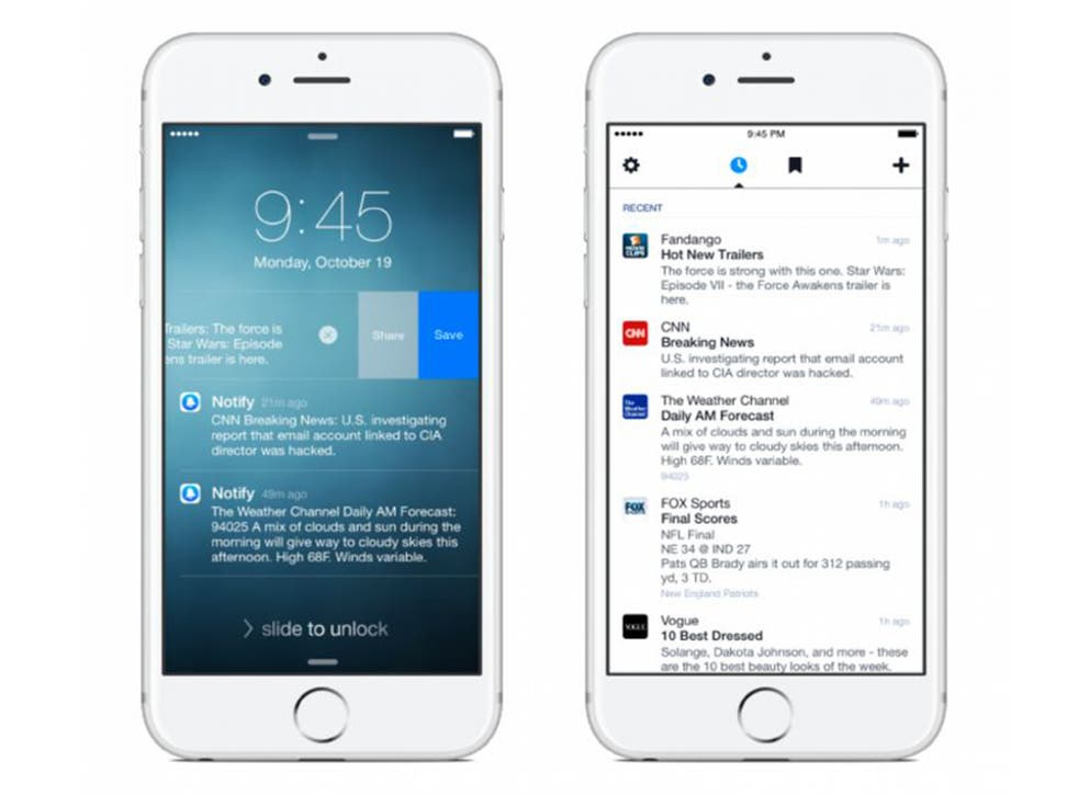 Notify is Facebook's attempt to become the dominant interface for your own smartphone