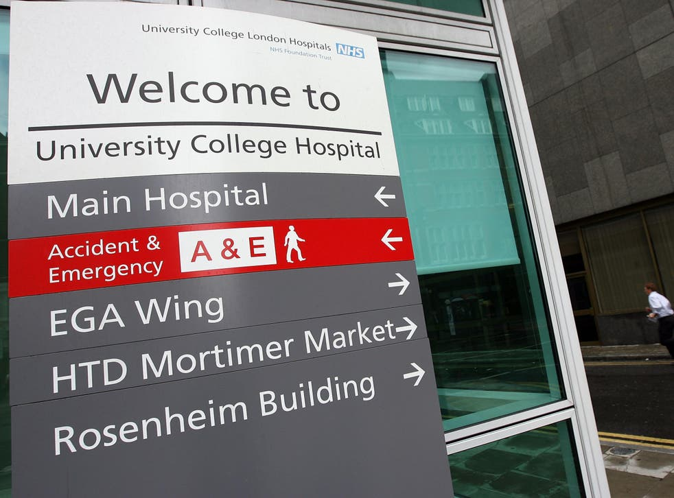 After the birth, the family went by ambulance to University College Hospital in central London