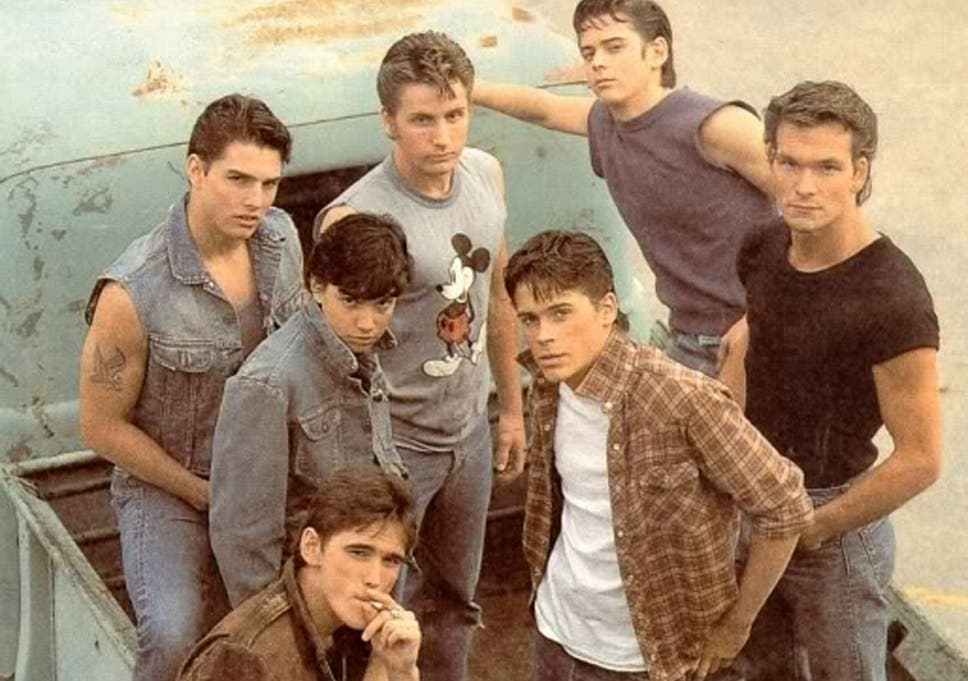the outsiders cast then