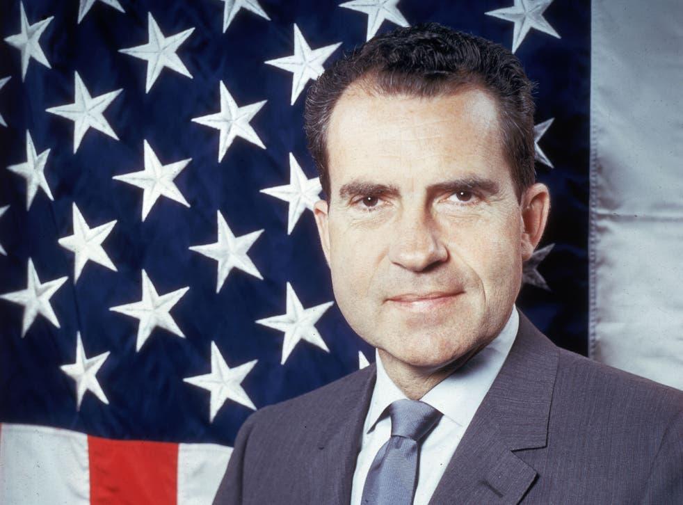 Socially dysfunctional: Former US president Richard Nixon