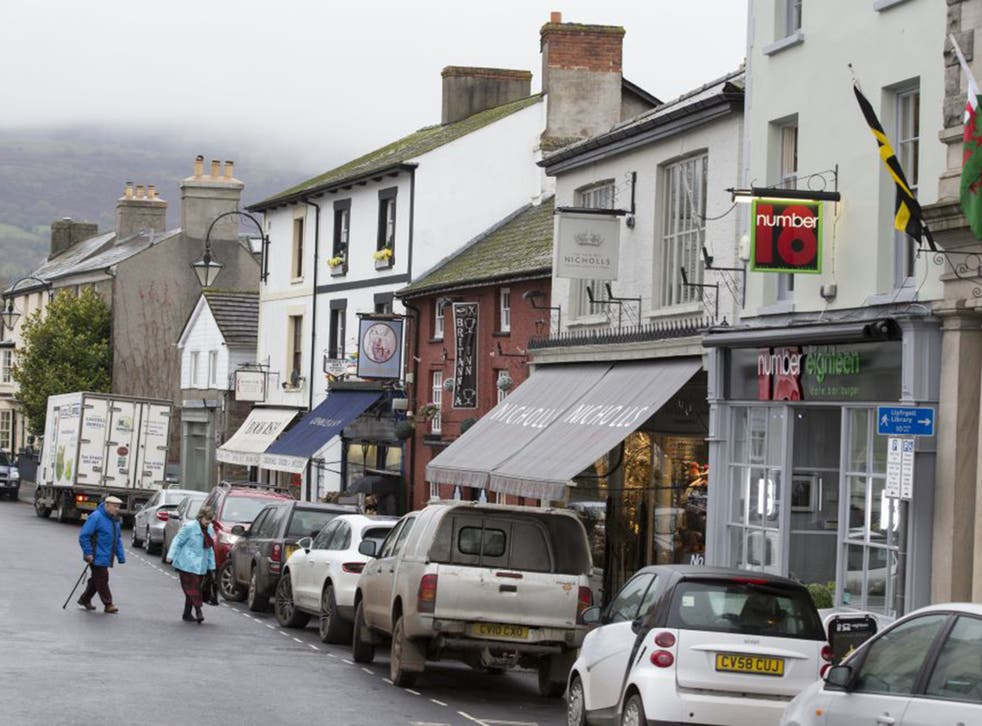 The residents of Crickhowell have a history of standing up to big retailers. Boots the chemist is the only national chain in the town's main shopping street